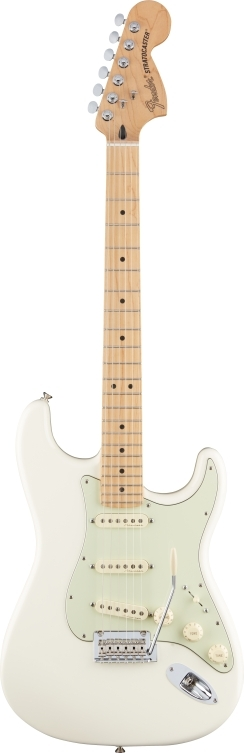 Deluxe Roadhouse™ Strat® - Olympic White