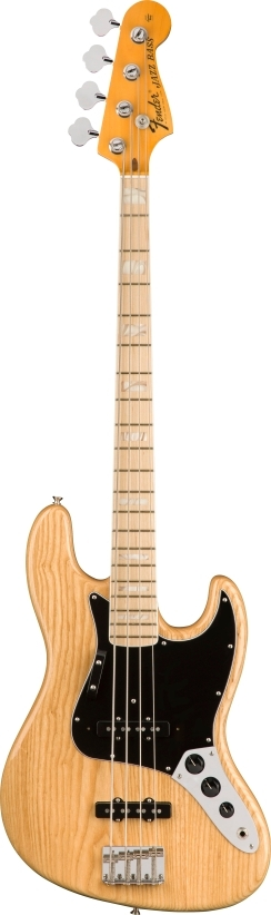 American Original '70s Jazz Bass® - Natural