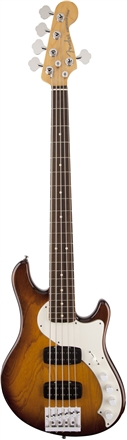 American Deluxe Dimension® Bass V HH (2013-2016) - Violin Burst