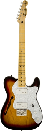 Squier® Vintage Modified '72 Tele Thinline - 3-Color Sunburst