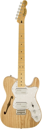 Vintage Modified '72 Telecaster® Thinline - Natural