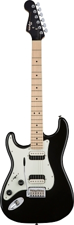 Contemporary Stratocaster® HH zurdos - Black Metallic
