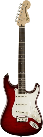 Standard Strat® FMT - Crimson Red Transparent