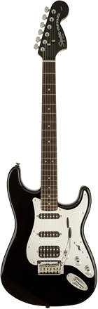 Black and Chrome Standard Stratocaster® HSS - Black