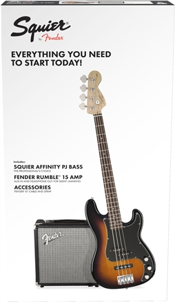 Affinity Series™ Precision Bass® PJ Pack - Brown Sunburst