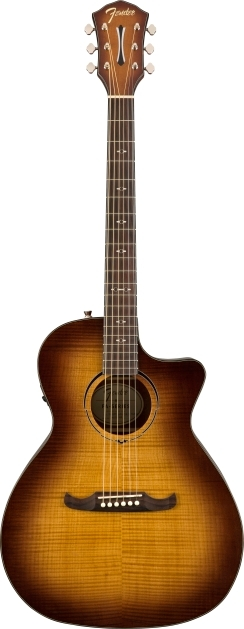 FA-345CE Auditorium - 3-Tone Tea Burst