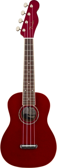Zuma Classic Concert Ukulele - Candy Apple Red