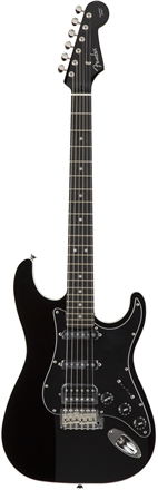 Aerodyne Strat® Medium Scale HSS - Black