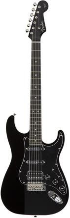 Aerodyne Strat® Medium Scale HSS - Black
