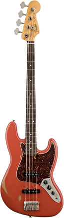 Road Worn® '60s Jazz Bass® - Fiesta Red