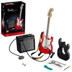 Lego® Ideas Fender® Stratocaster™ - Black and Red