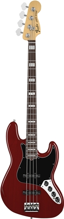 American Deluxe Jazz Bass® (2010-2016) - Wine Transparent