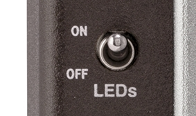 ON/OFF CONTROLLABLE LEDS
