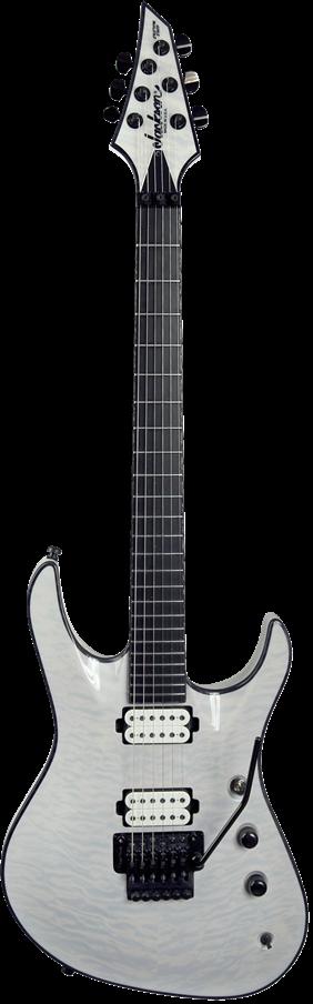 USA Signature Chris Broderick Soloist™ 6 - Transparent White
