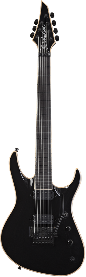 USA Signature Chris Broderick Soloist™ 7 - Gloss Black