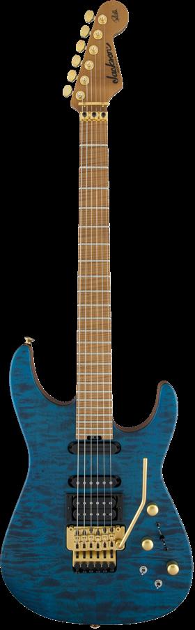 USA Signature Phil Collen PC1™ Satin Stain - Satin Trans Blue