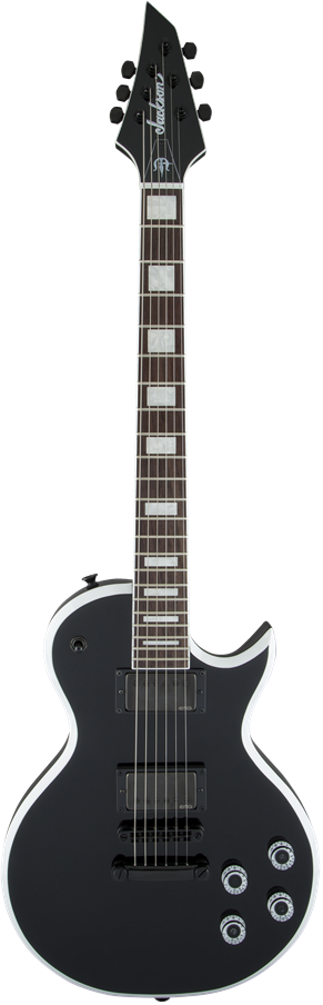 X Series Signature Marty Friedman MF-1 - Black with White Bevels