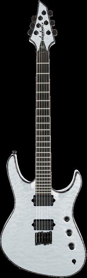 USA Signature Chris Broderick Soloist™ HT6 - Transparent White