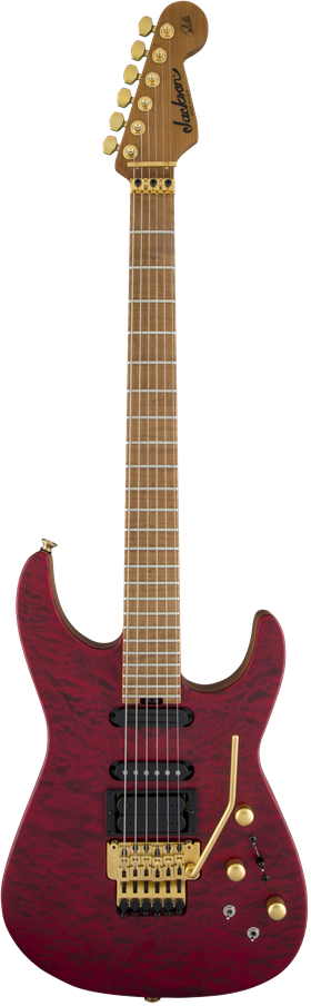 USA Signature Phil Collen PC1™ Satin Stain - Satin Trans Red