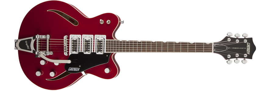 G5622T-CB Electromatic® Center Block with Bigsby®, Double Cutaway
