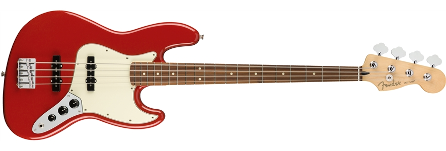 Player Jazz Bass® - Sonic Red