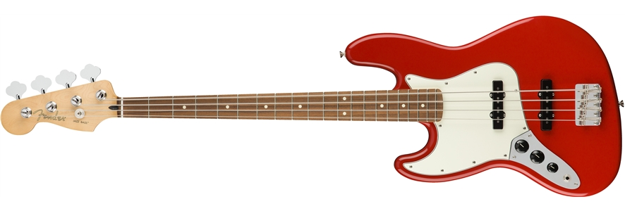 Player Jazz Bass® Left-Handed - Sonic Red