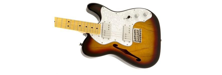 Squier® Vintage Modified '72 Tele Thinline - 3-Color Sunburst