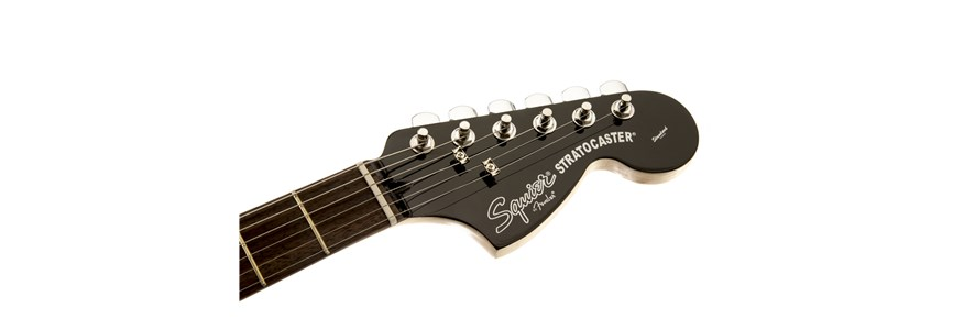 Black and Chrome Standard Stratocaster® HSS -