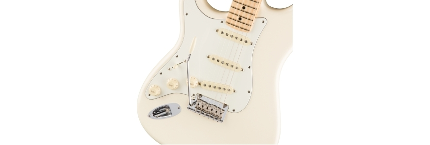 American Professional Stratocaster® Left-Hand - Olympic White