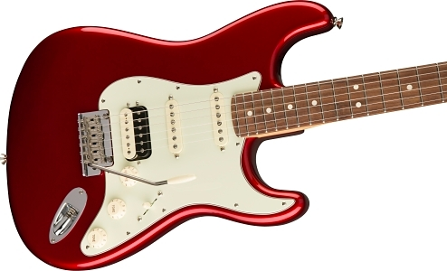 American Professional Stratocaster® HSS Shawbucker - Candy Apple Red
