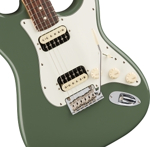 American Professional Stratocaster® HH Shawbucker - Antique Olive