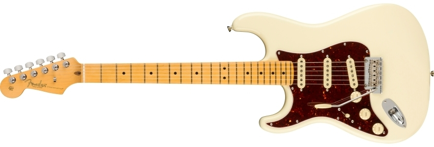 American Professional II Stratocaster® Left-Hand view 1.0