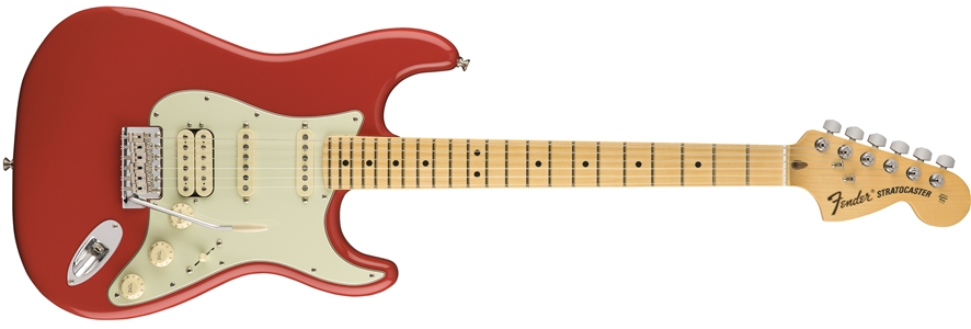 American Special Stratocaster® HSS - Fiesta Red