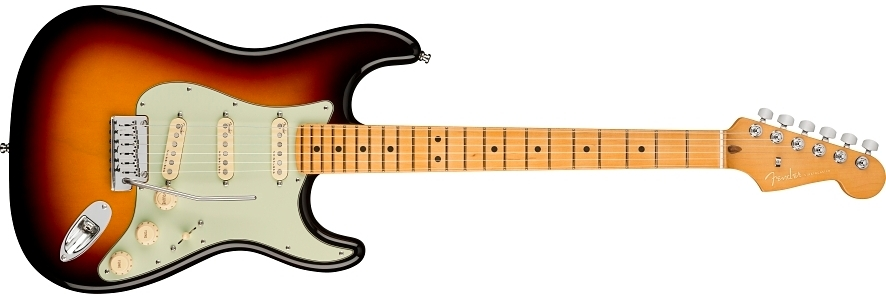 American Ultra Stratocaster® view 1.0