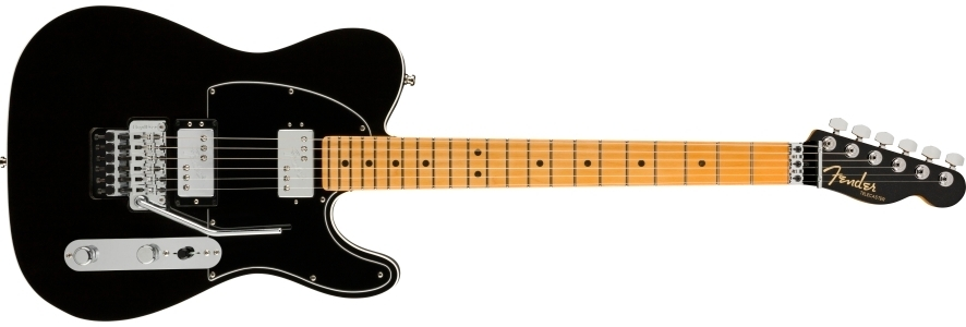 American Ultra Luxe Telecaster® Floyd Rose® HH view 1.0