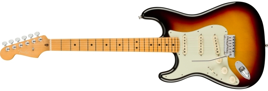 American Ultra Stratocaster® Left-Hand view 1.0