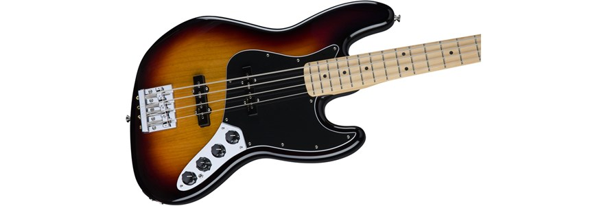 Deluxe Active Jazz Bass® - 3-Color Sunburst