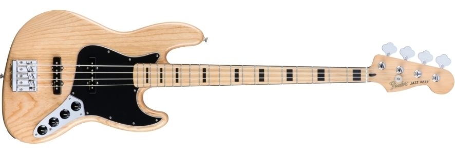 Deluxe Active Jazz Bass® - Natural