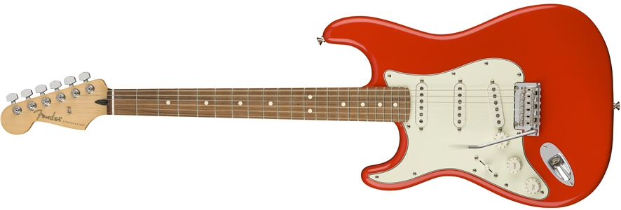 Player Stratocaster® Left-Handed - Sonic Red