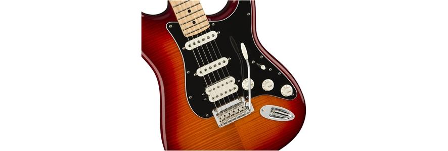 Player Stratocaster® HSS Plus Top - Aged Cherry Burst