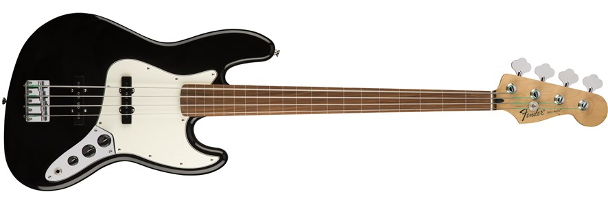 Standard Jazz Bass® Fretless - Black