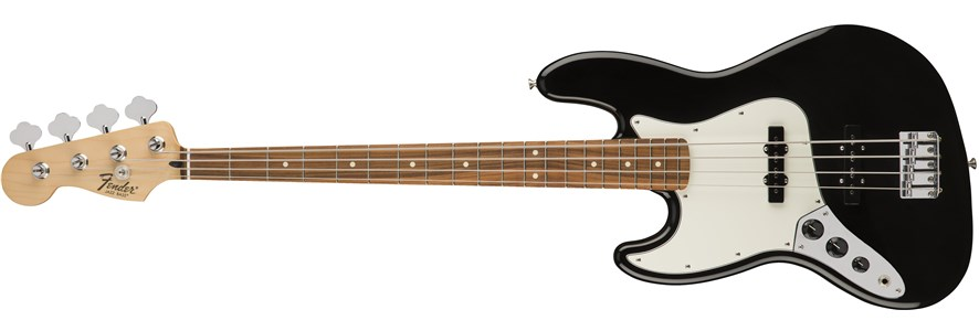 Standard Jazz Bass® Left-Hand - Black
