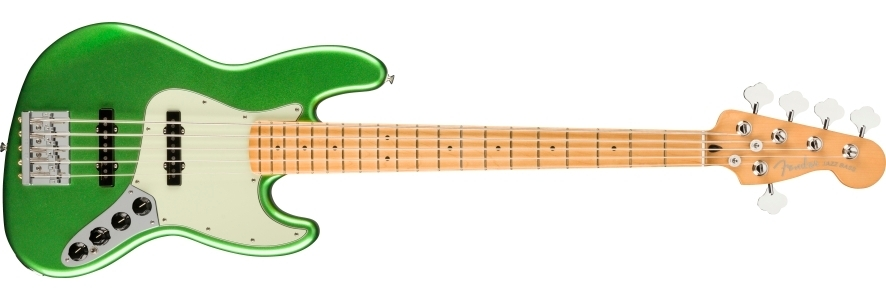 Player Plus Jazz Bass® V view 1.0