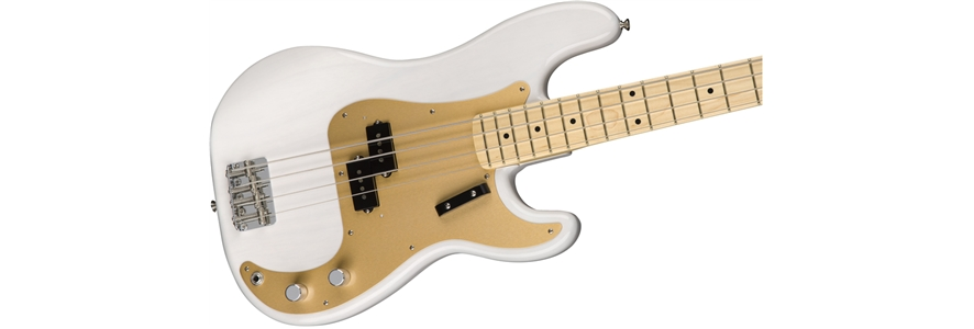 American Original '50s Precision Bass® - White Blonde
