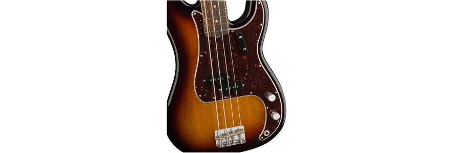 American Original '60s Precision Bass® - 3-Color Sunburst