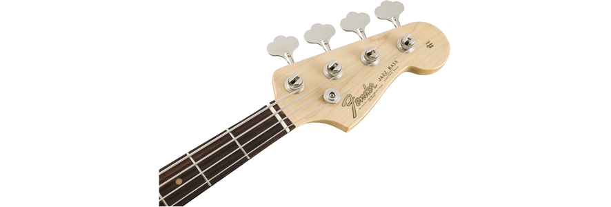 American Original '60s Jazz Bass® - Olympic White