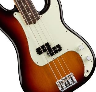 American Professional Precision Bass® - 3-Color Sunburst