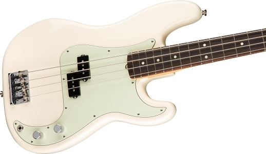 American Professional Precision Bass® - Olympic White