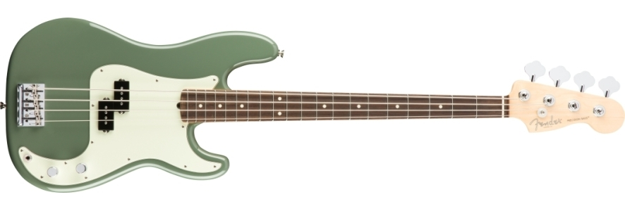 American Professional Precision Bass® - Antique Olive