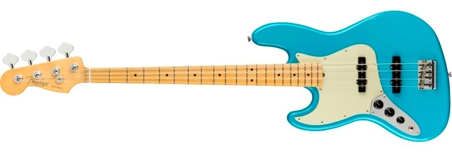 American Professional II Jazz Bass® Left-Hand view 1.0